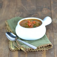 Creamy Tomato Florentine Soup @carascravings-2
