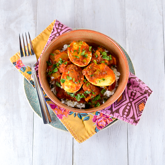 Hard Boiled Egg Curry @Carascravings-4