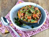 Indian Spiced Chili in Acorn Squash Bowls @Cara's Cravings-2