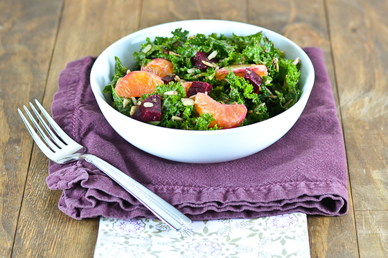 Winter Kale Power Salad @Carascravings-3