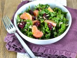 Winter Kale Power Salad @Carascravings-4