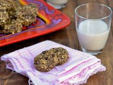 No Bake Peanut Butter Chia Chocolate Chip Cookies @carascravings-3
