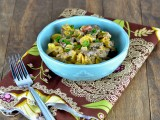 Philly Cheesesteak Pasta @carascravings-4