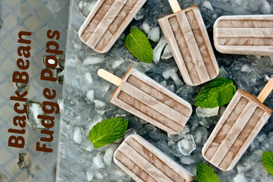 Black Bean Fudge Pops @Cara's Cravings