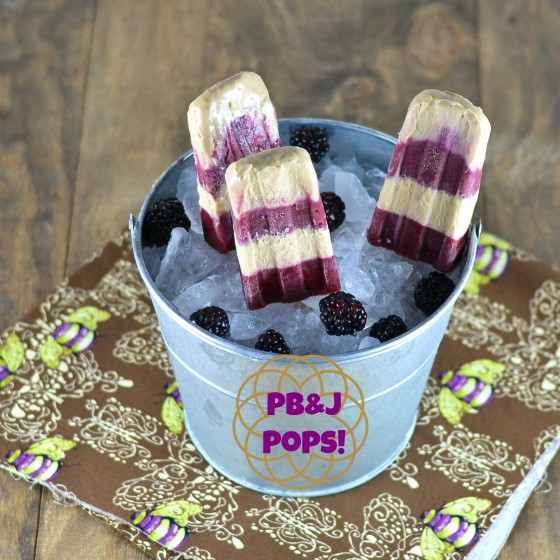 PB&Jsicles recipe for Smart Balance Recipe contest. Visit & Vote!