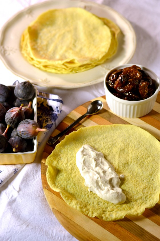 yom kippur, gluten free blintzes, dairy free blintzes