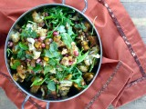 Roasted Cauliflower and Squash Salad, Cara's Cravings