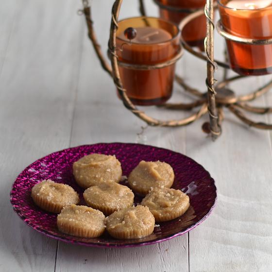 Tahini Salted Caramels @Cara's Cravings-1