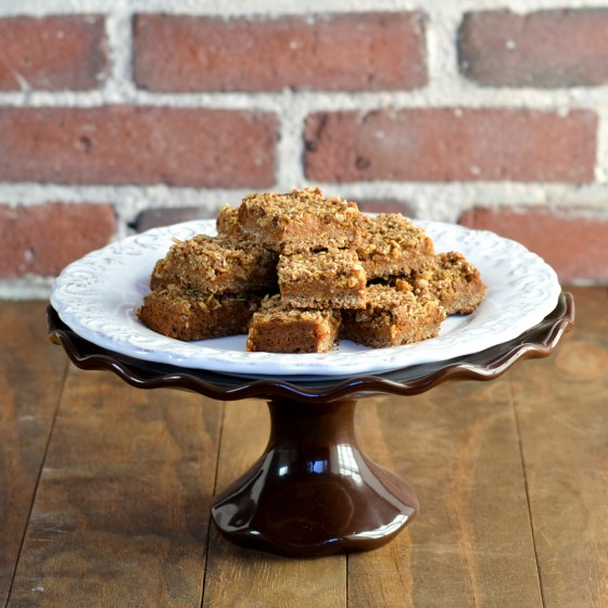 Supergrain Pumpkin Streusel Bars-1