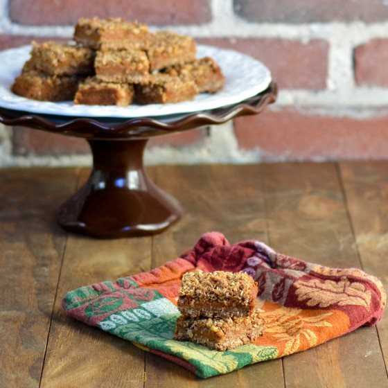 Supergrain Pumpkin Streusel Bars-3