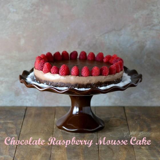 Chocolate Mousse Torte @Cara's Cravings