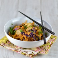 Butternut Squash Noodles with Tahini-Clementine Sauce @Cara's Cravings-2