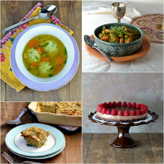 Gluten-free Passover Menu by Cara Lyons