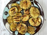 Grilled Eggplant with Zatar, Honey and Chili @Cara's Cravings-2