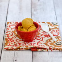 Vegan Roasted Carrot & Ginger Ice Cream @Cara's Cravings-3