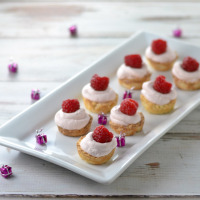 Raspberry Mousse Cups-1